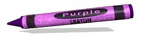 The Purple Crayon Logo